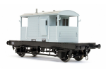 Dapol 7F-100-102 SR Pill Box Brake Van 56352 BR Grey